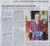 Illustration Un bel article sur Paul Samanos, paru dans Ouest France