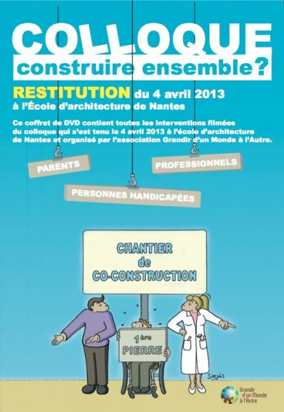 Visuel Restitution colloque Co construction et handicap